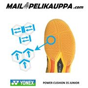 YONEX Power Cushion 35 JUNIOR sulkapallokengät