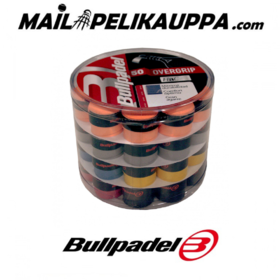 Grippilaatikko Bullpadel Overgrip x50