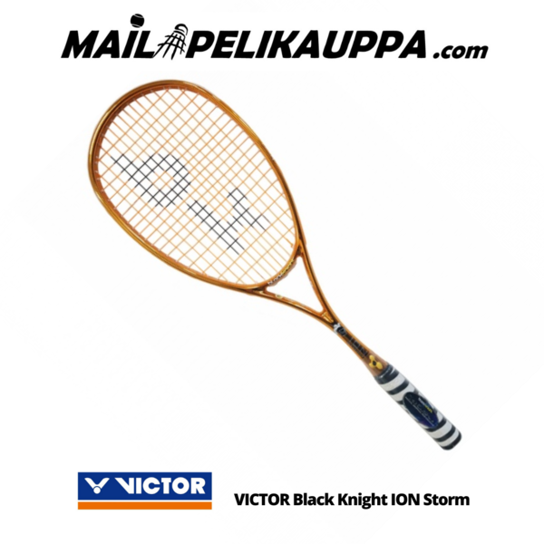 VICTOR Black Knight ION Storm squashmaila